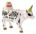 COW PARADE HAPPY BIRTHDAY PETITE