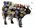 COW PARADE MOO POTTER VAISSELLE MOYENNE