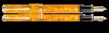 M600 ORANGE VIBRANT PLUME MOYENNE À PISTON